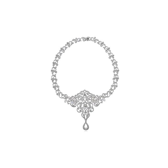DIAMOND RUMI NECKLACE
