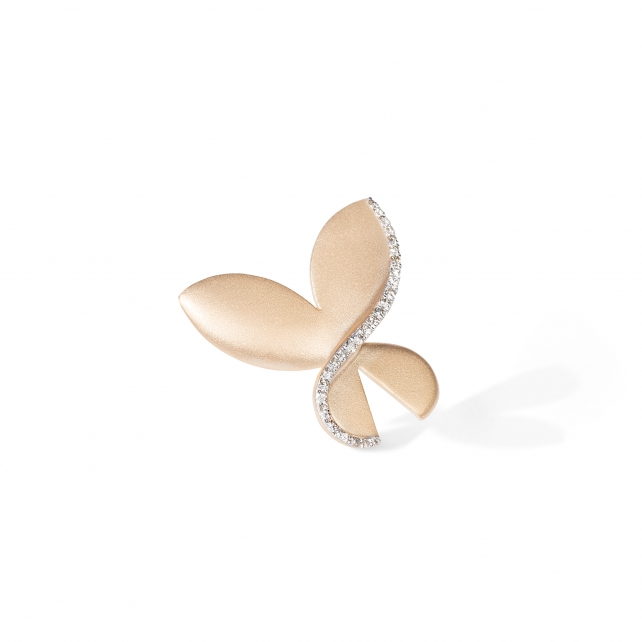 MEDIUM CARBONELL BUTTERFLY BROOCH