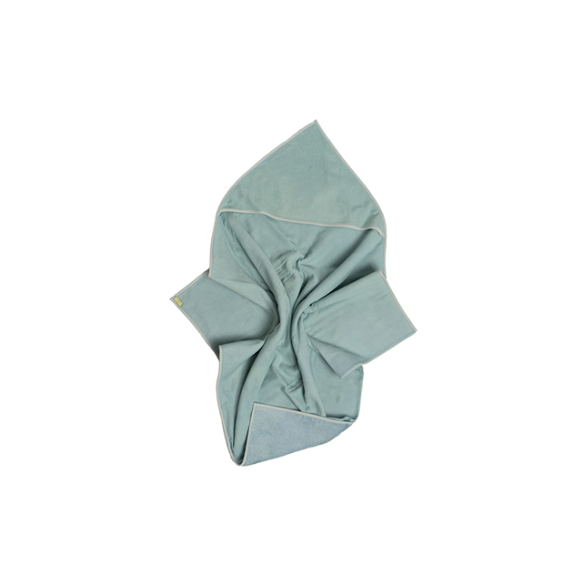 NATURAL DYED HOODED BABY TOWEL