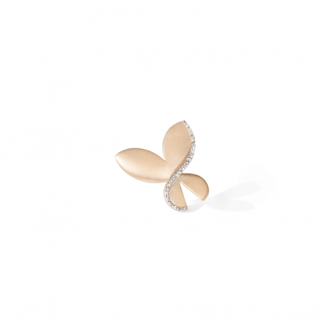SMALL CARBONELL BUTTERFLY BROOCH