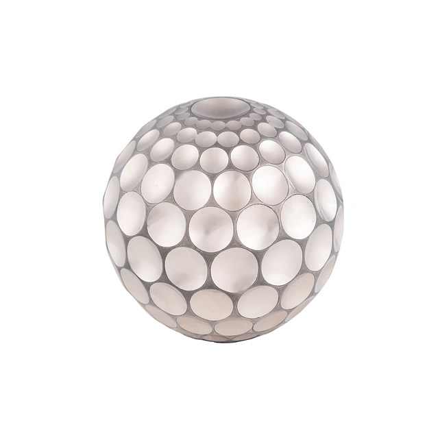 SPOTTED SPHERE DECORATIVE OBJECT LARGE