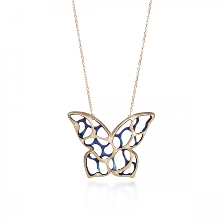 Howthorn Butterfly Necklace