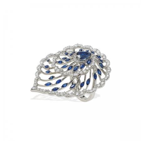 Sapphire Diantus Ring