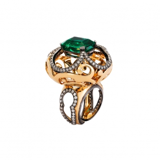 EMERALD SULTAN RING