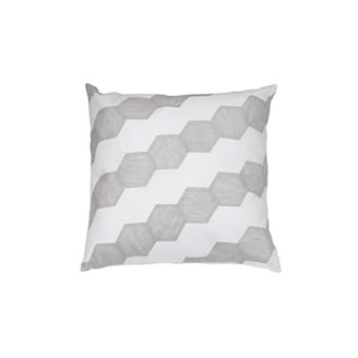 HONEYCOMB LINEN PILLOW
