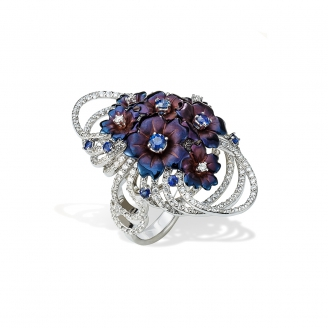 SAPPHIRE VERVAIN RING