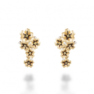 YELLOW SAPPHIRE VERVAIN EARRING