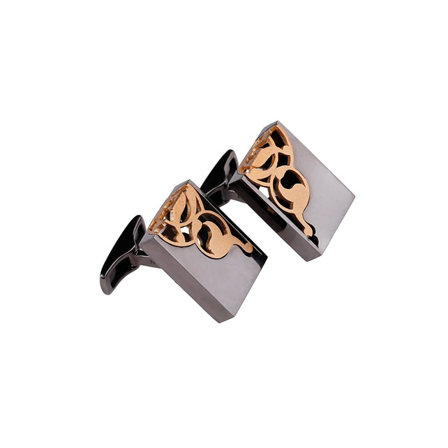 DIVRIGI GOLD CUFFLINKS