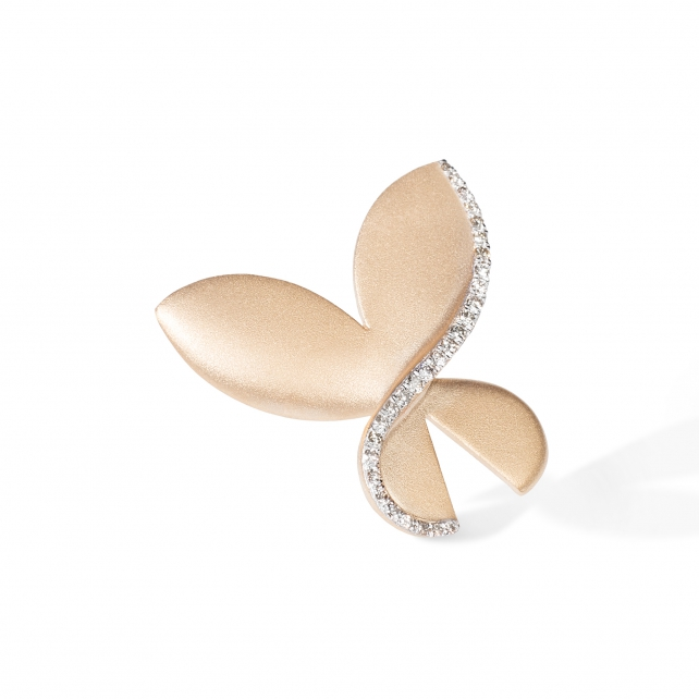 LARGE CARBONELL BUTTERFLY BROOCH