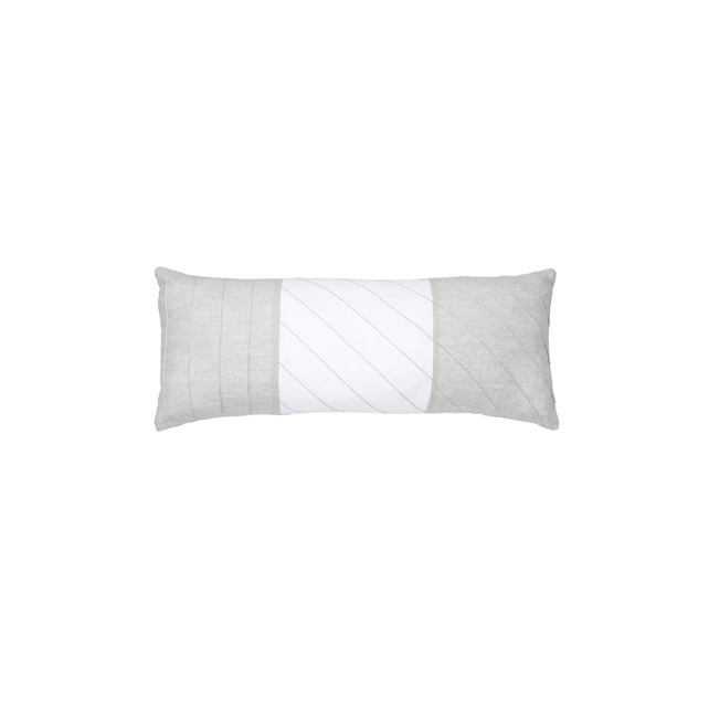 RIBBED LINEN PILLOW
