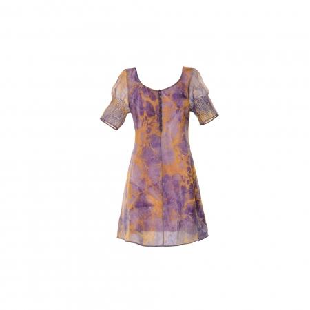 Ebru Desen Yün Elbise