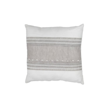 Needle Lace Linen Pillow