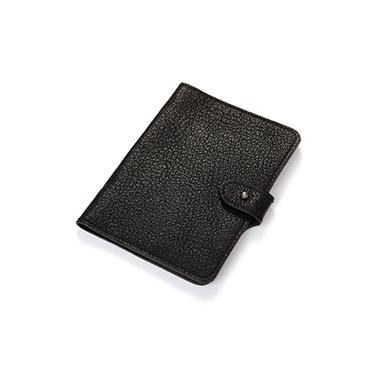 Gümüş Topuzlu Pasaport Kılıfı