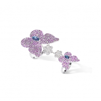 CARBONELL BUTTERFLY RING
