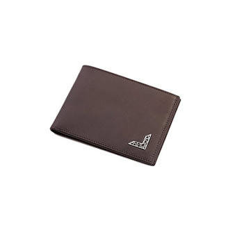 SILVER DETAILED MENS WALLET